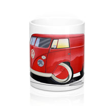 Load image into Gallery viewer, VW Split-Screen Panel Van - Caricature Car Art Coffee Mug