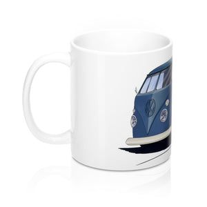 VW Split-Screen Pick-Up - Caricature Car Art Coffee Mug