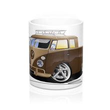 Load image into Gallery viewer, VW Split-Screen Crew Cab Pick-Up (Yeo-B) - Caricature Car Art Coffee Mug