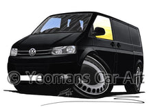 Load image into Gallery viewer, VW T5 (Facelift) Transporter Van - Caricature Car Art Coffee Mug