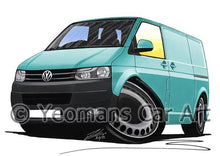 Load image into Gallery viewer, VW T5 (Facelift) Transporter Van (Grey Bumper) - Caricature Car Art Coffee Mug