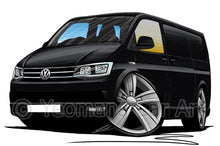 Load image into Gallery viewer, VW T6 Transporter Van - Caricature Car Art Coffee Mug