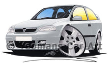 Load image into Gallery viewer, Vauxhall Astra (Mk4) SRi - Caricature Car Art Coffee Mug
