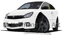 Load image into Gallery viewer, Vauxhall Astra (Mk5) VXR Arctic Edition - Caricature Car Art Coffee Mug