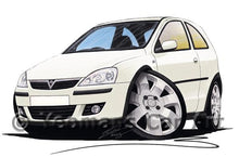 Load image into Gallery viewer, Vauxhall Corsa C (Facelift) SXi - Caricature Car Art Coffee Mug