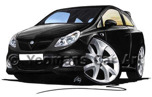 Vauxhall Corsa D VXR - Caricature Car Art Coffee Mug