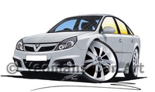 Load image into Gallery viewer, Vauxhall Vectra VXR - Caricature Car Art Coffee Mug