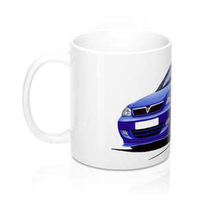 Vauxhall Astra (Mk4) Coupe '888' Edition - Caricature Car Art Coffee Mug