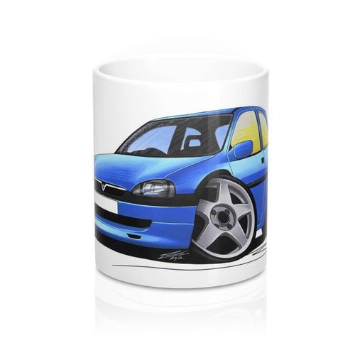 Vauxhall Corsa B - Caricature Car Art Coffee Mug