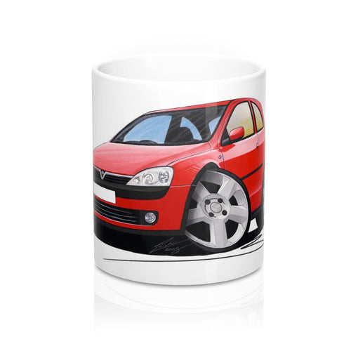 Vauxhall Corsa C SRi - Caricature Car Art Coffee Mug