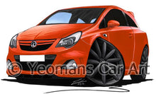 Load image into Gallery viewer, Vauxhall Corsa D (Facelift) VXR Nurburgring Edition - Caricature Car Art Coffee Mug