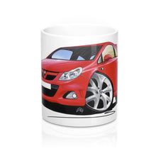 Load image into Gallery viewer, Vauxhall Corsa D VXR - Caricature Car Art Coffee Mug
