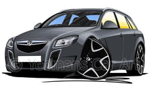 Load image into Gallery viewer, Vauxhall Insignia VXR Estate - Caricature Car Art Coffee Mug