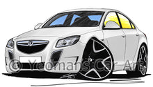 Load image into Gallery viewer, Vauxhall Insignia VXR - Caricature Car Art Print