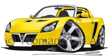 Load image into Gallery viewer, Vauxhall VX220 - Caricature Car Art Coffee Mug