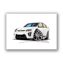 Load image into Gallery viewer, Vauxhall VXR8 Bathurst - Caricature Car Art Print