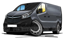 Load image into Gallery viewer, Vauxhall Vivaro B (2014- ) (Grey Bumpers) - Caricature Car Art Coffee Mug