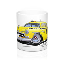Load image into Gallery viewer, Yellow Cab - Caricature Car Art Coffee Mug