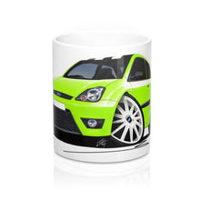 Load image into Gallery viewer, Ford Fiesta (Mk6)(Facelift) Zetec S Celebration Edition - Caricature Car Art Coffee Mug
