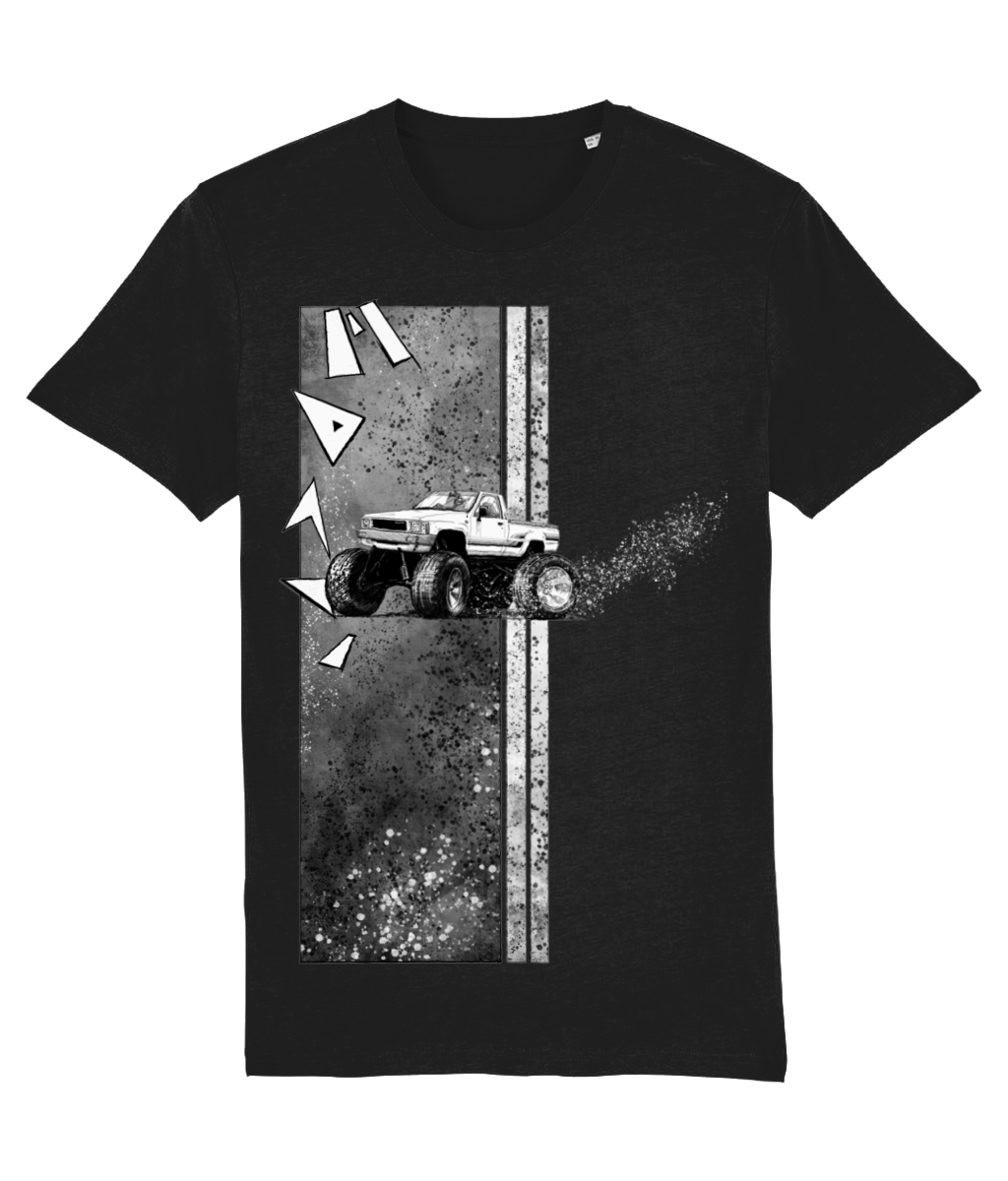 Monster Drift - Car Art T-Shirt