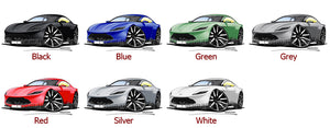 Aston Martin DB10 - Caricature Car Art Print