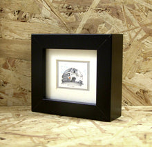 Load image into Gallery viewer, T3 Van (014) - Miniature Framed Sketch