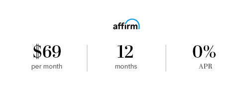 Affirm financing available as low as $69 per month for 12 months 0% APR | California Closets