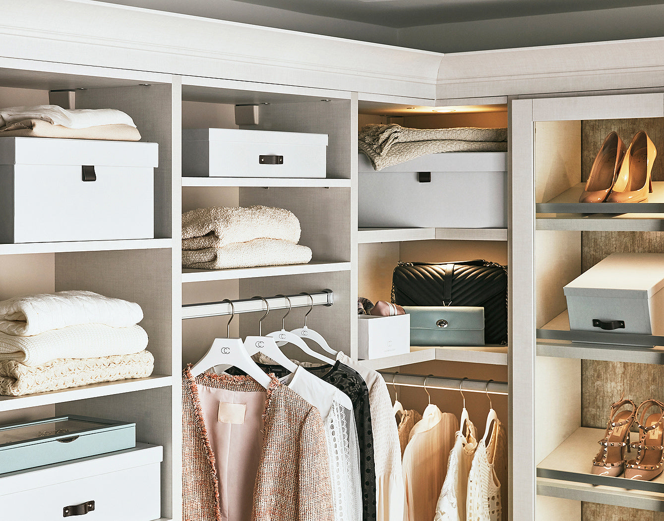 Welcome to your organized Closet
