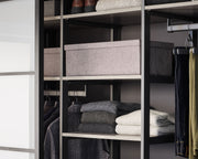 Example showing Everyday System with Everyday Bins in Graphite | California Closets