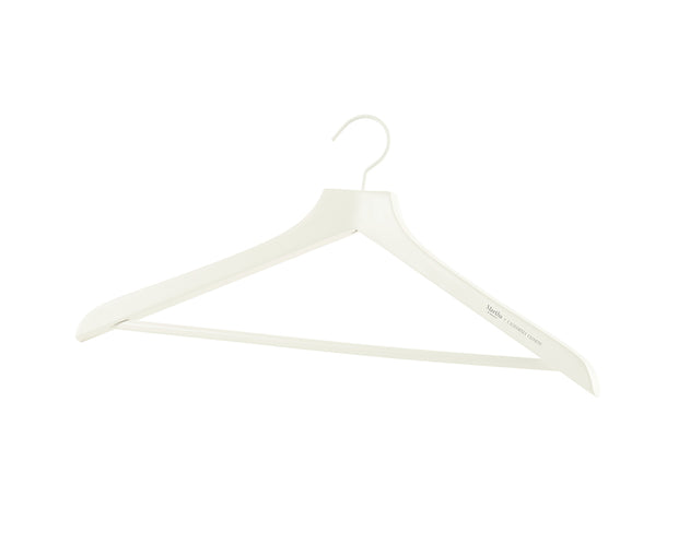 Everyday Coat Hangers in White | California Closets