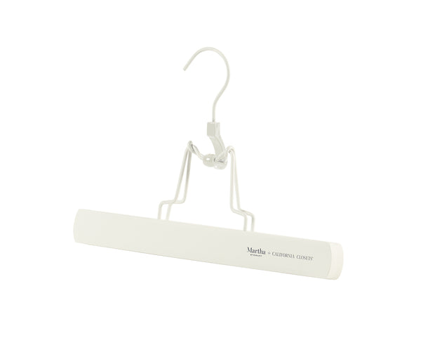 Everyday Slack Hangers in White | California Closets