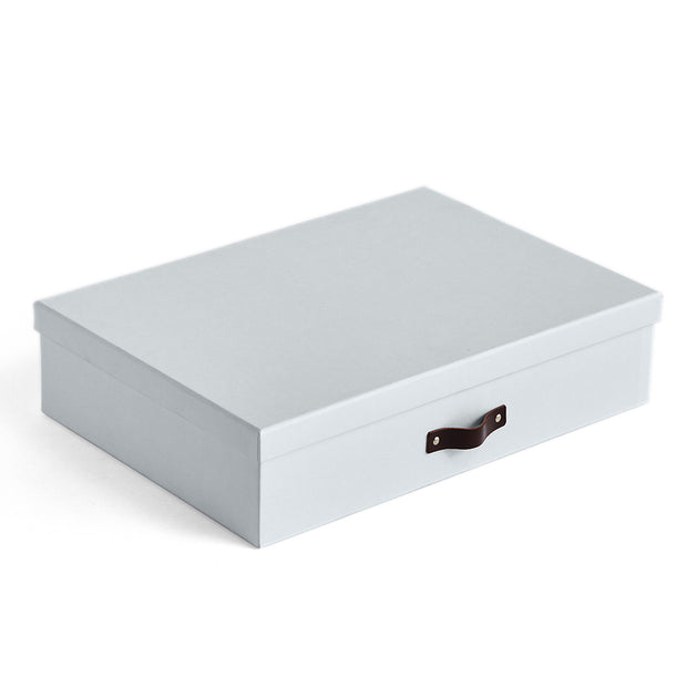 Bleecker Divided Organizer with Handle Closed Top in Grey Mist