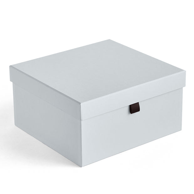 Small Bleecker Storage Box in Grey Mist Finish
