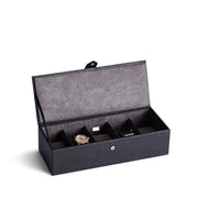 Bowery Valet Watch Box in Black Finish by California Closets Essentials