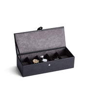 Bowery Valet Watch Box in Black Finish