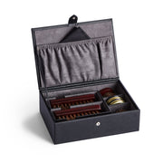 Bowery Valet Shoe Shine Kit in Black Finish by California Closets Essentials