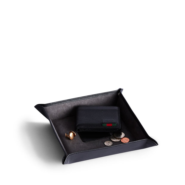 Bowery Valet Coin Tray in Black Finish by California Closets Essentials