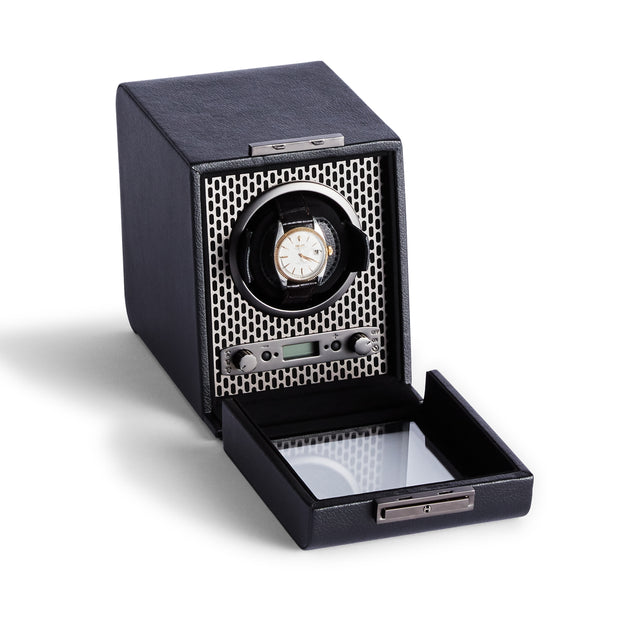Brooklyn Single Watch Winder in Black Finish