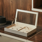 Park Jewelry Tray in Dove Grey Finish in Closet System