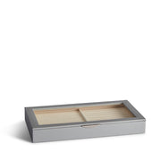 Park Jewelry Tray in Dove Grey Finish Closed Top