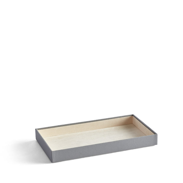 1.5 Inch Park Stackable Tray in Dove Grey Finish by California Closets Essentials