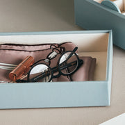Park Stackable Tray Ice Blue Finish in Closet System