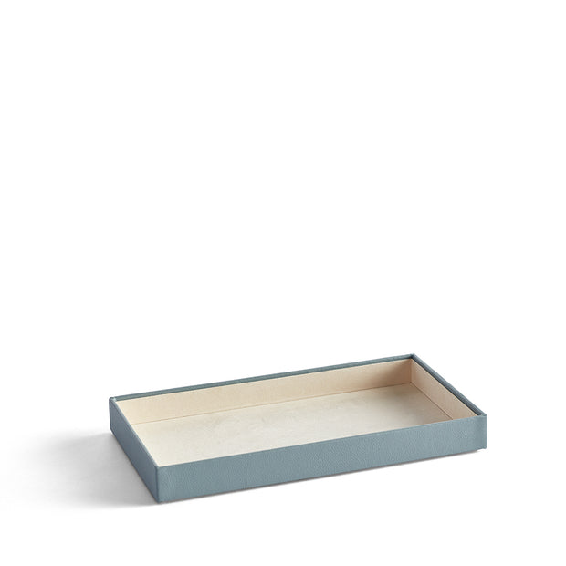 1.5 Inch Park Stackable Tray in Ice Blue Finish