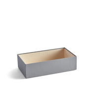 4 Inch Park Stackable Tray in Dove Grey Finish