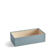 4 Inch Park Stackable Tray in Ice Blue Finish by California Closets Essentials