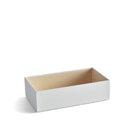 4 Inch Park Stackable Tray in White Finish