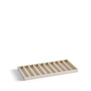Park Stackable Necklace Tray Insert in Ivory Finish
