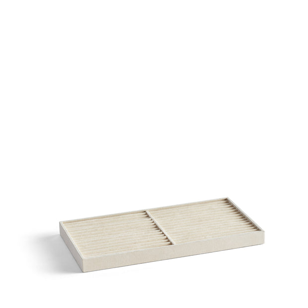 Park Stackable Ring Tray Insert in Ivory Finish