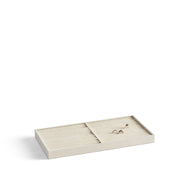 Park Stackable Ring Tray Insert in Ivory Finish by California Closets Essentials