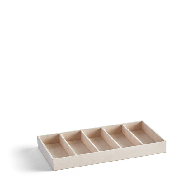 Park Stackable Eyewear Tray Insert in Ivory Finish